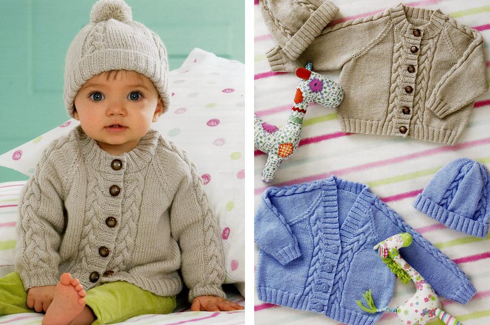 baby boy hat knitting pattern uk