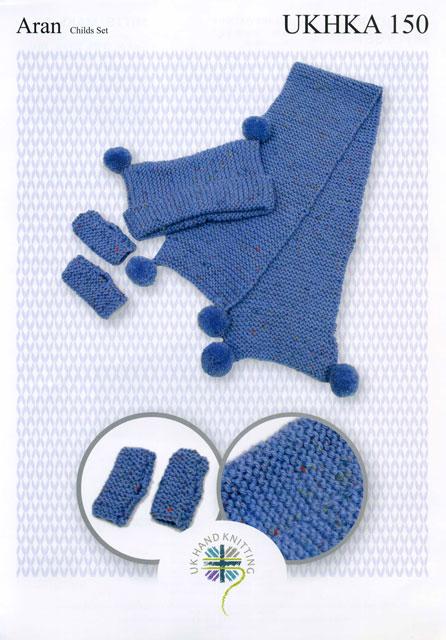 Knitting Pattern Leaflets : James C. Brett Knitting Pattern UKHKA150 Leaflet