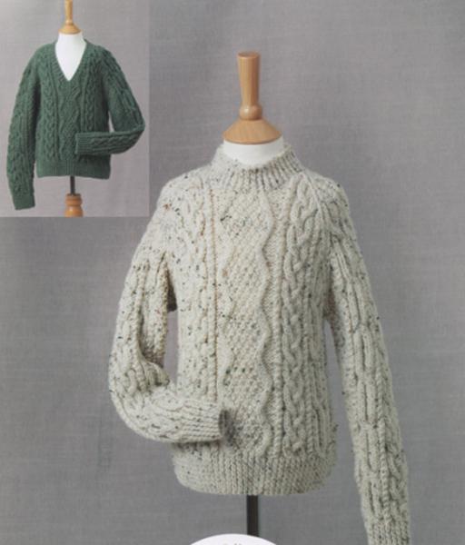 James C. Brett Knitting Pattern UKHKA161 Leaflet